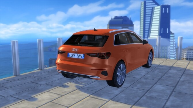 Audi A3 Sportback at LorySims image 2643 670x377 Sims 4 Updates