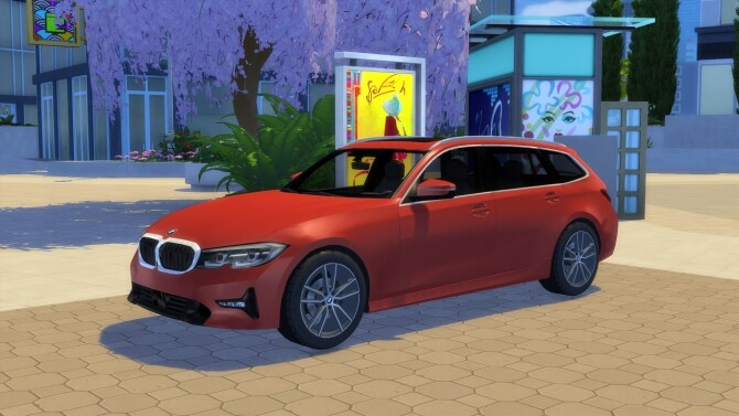 BMW 3 Series Touring at LorySims image 2644 670x377 Sims 4 Updates