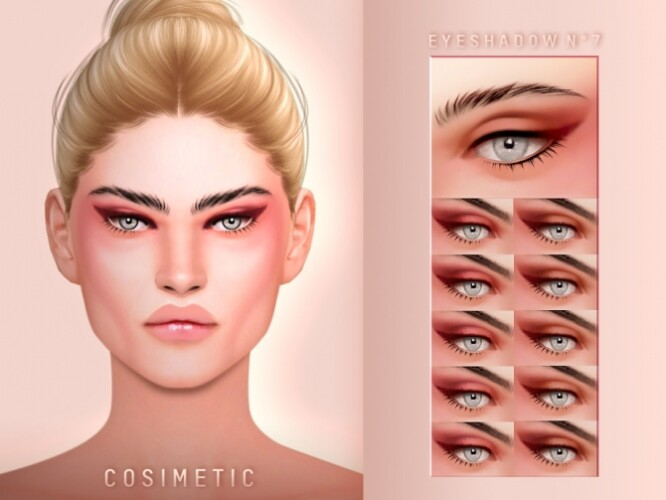 Eyeshadow N7 by cosimetic