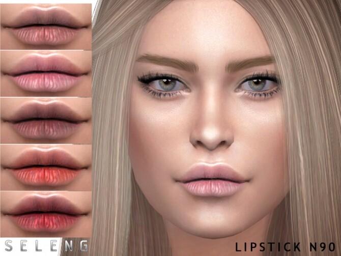 Sims 4 Lipstick N90 by Seleng at TSR