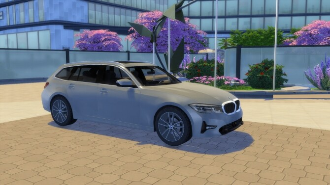 BMW 3 Series Touring at LorySims image 2654 670x377 Sims 4 Updates