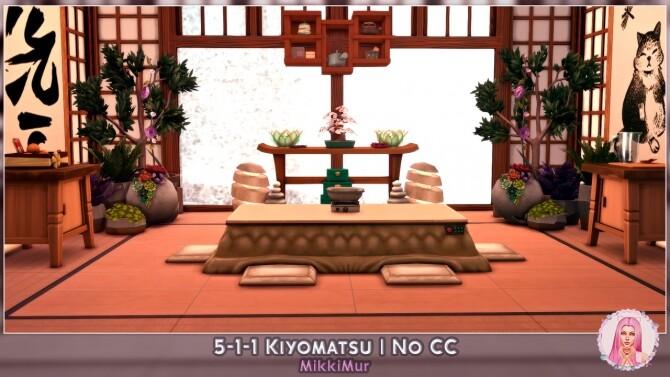 Sims 4 5 1 1 Kiyomatsu house at MikkiMur