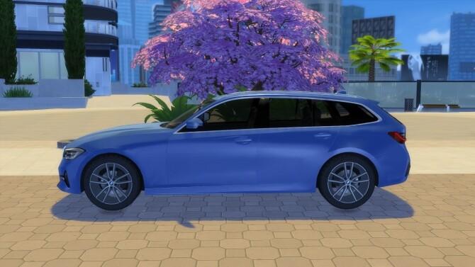 Sims 4 BMW 3 Series Touring at LorySims