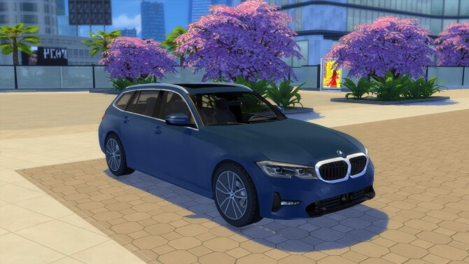 BMW 3 Series Touring at LorySims image 2674 670x377 Sims 4 Updates