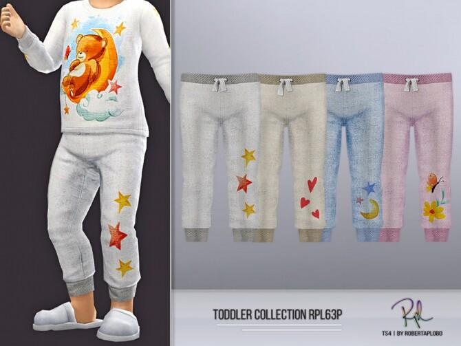 Sims 4 Toddler RPL63P Pants by RobertaPLobo at TSR
