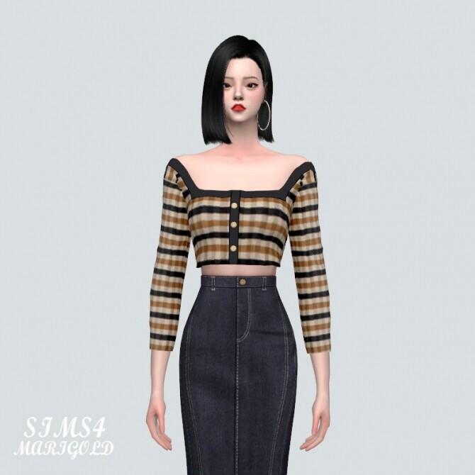Sims 4 7 A Blouse at Marigold