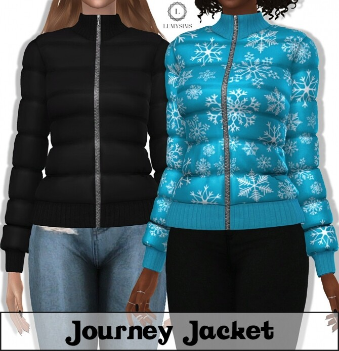 Sims 4 Journey Jacket at Lumy Sims