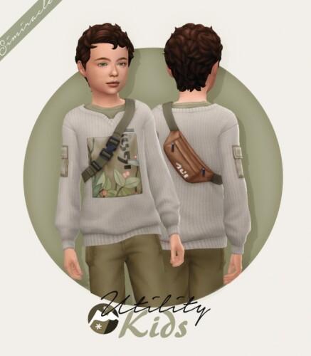 Utility Sweater Kids Version