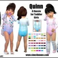 Quinn onesie by SamanthaGump