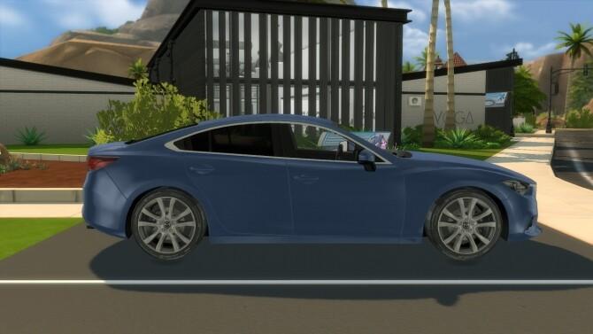 Sims 4 2012 Mazda 6 Sedan at Modern Crafter CC