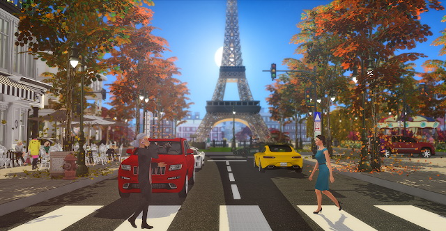 Sims 4 Paris City of Love at Lily Sims