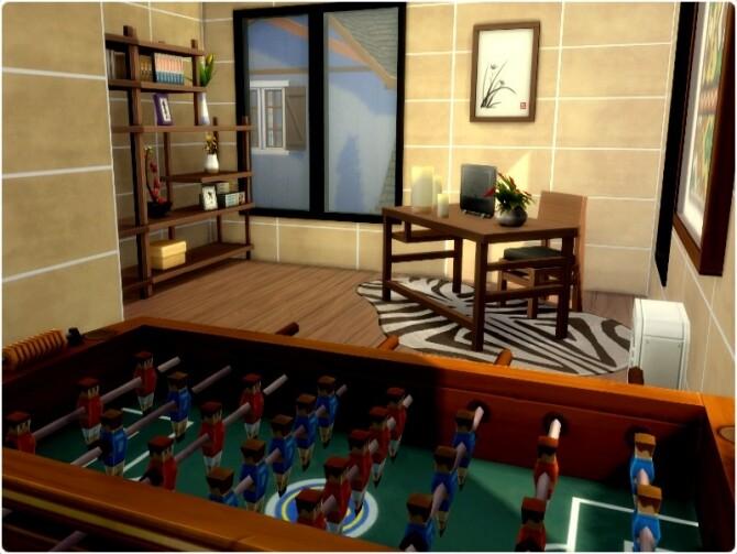 Sims 4 Sandra home by GenkaiHaretsu at TSR