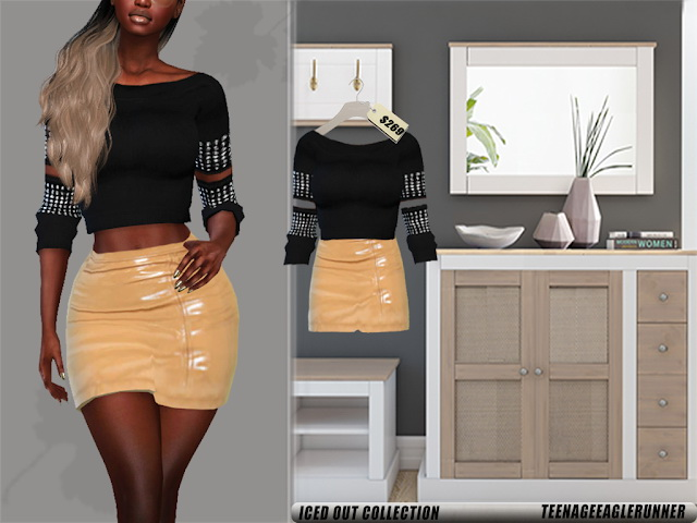 Sims 4 Iced Out Collection at Teenageeaglerunner