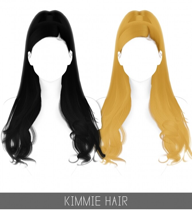 Sims 4 KIMMIE HAIR + TODDLER & CHILD at Simpliciaty
