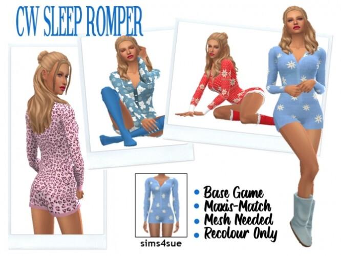 COLISWONDERLANDS SLEEP ROMPER