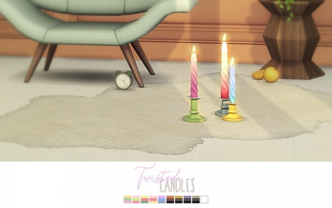Twisted Candles