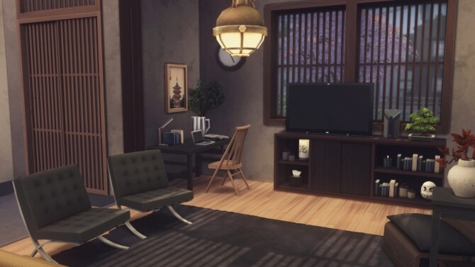 Sims 4 Modern Rustic Machiya at Harrie