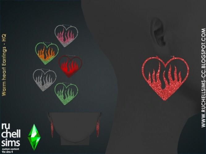 WARM HEART EARRINGS
