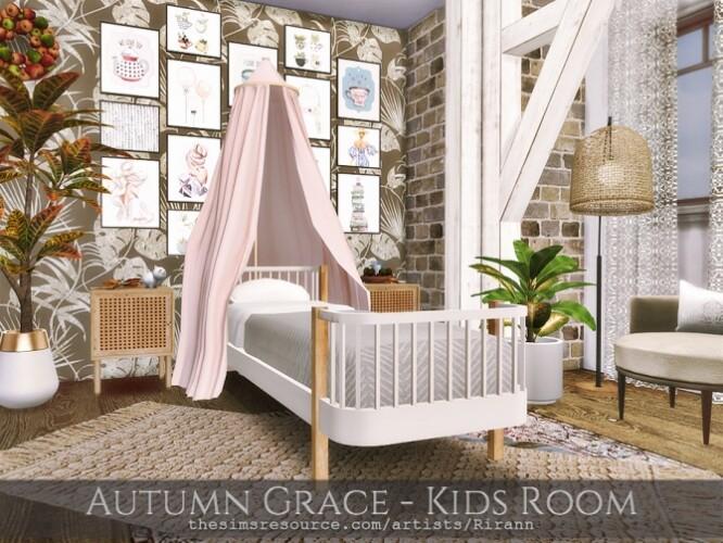 Autumn Grace Kids Room by Rirann