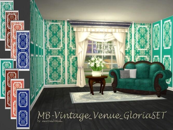 MB Vintage Venue Gloria SET by matomibotaki