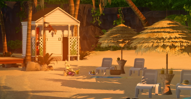 Sims 4 Sulani Private Beach at Lily Sims