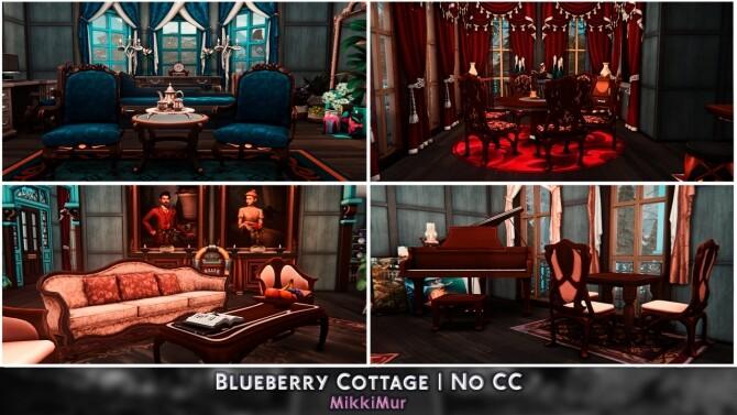 Sims 4 Blueberry Cottage at MikkiMur