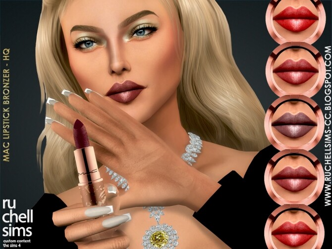 EYE SHADOW / LIPSTICK at Ruchell Sims image 296 670x503 Sims 4 Updates