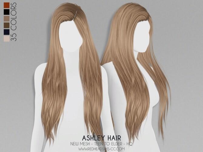 ASHLEY HAIR + KIDS VERSION at REDHEADSIMS image 2975 670x503 Sims 4 Updates