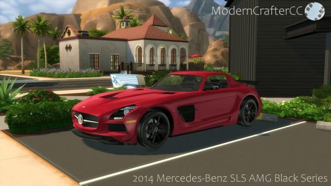 2014 Mercedes Benz SLS AMG Black Series at Modern Crafter CC image 298 670x377 Sims 4 Updates