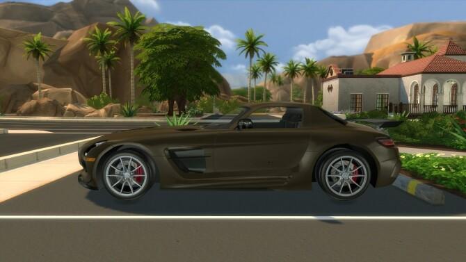 2014 Mercedes Benz SLS AMG Black Series at Modern Crafter CC image 299 670x377 Sims 4 Updates