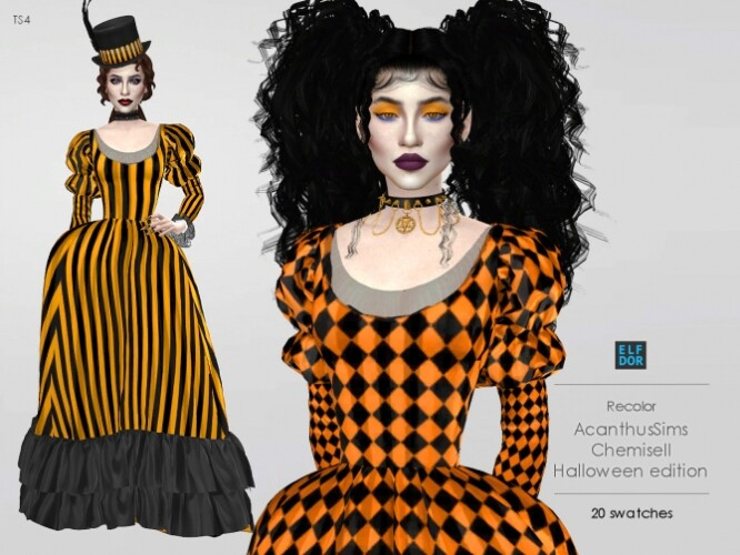AcanthusSims ChemiseII RC Halloween edition