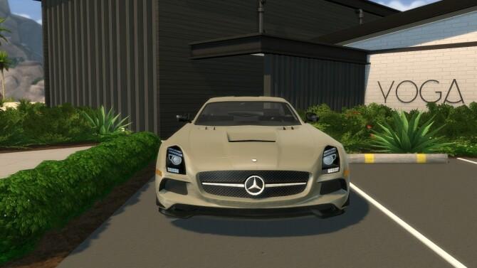 2014 Mercedes Benz SLS AMG Black Series at Modern Crafter CC image 300 670x377 Sims 4 Updates