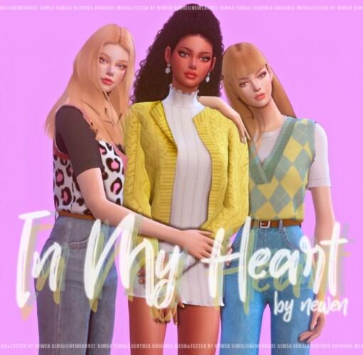 In my heart set
