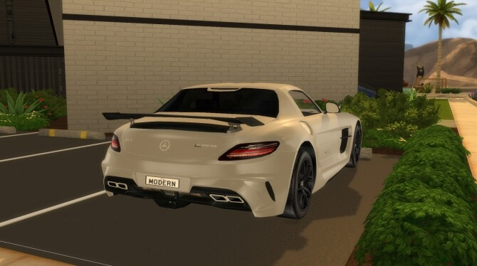 2014 Mercedes Benz SLS AMG Black Series at Modern Crafter CC image 301 670x374 Sims 4 Updates