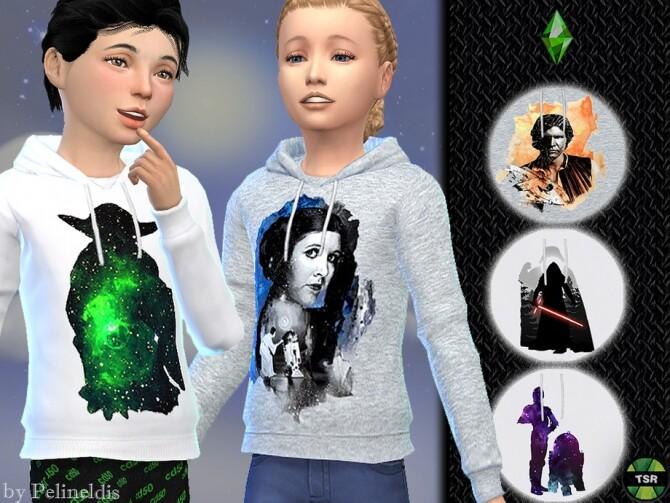 Sims 4 Star Wars Hoodie by Pelineldis at TSR