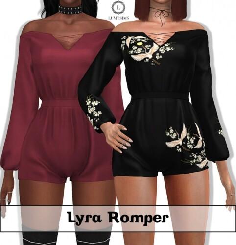 Lyra Romper