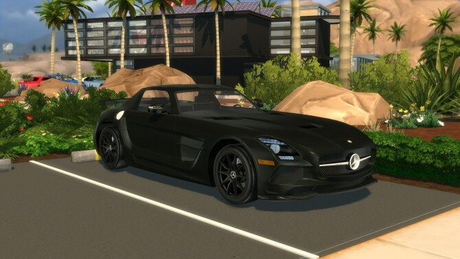 2014 Mercedes Benz SLS AMG Black Series at Modern Crafter CC image 302 670x377 Sims 4 Updates