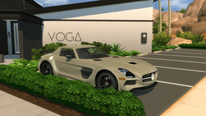 2014 Mercedes Benz SLS AMG Black Series at Modern Crafter CC image 303 670x377 Sims 4 Updates