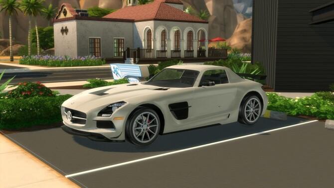 2014 Mercedes Benz SLS AMG Black Series at Modern Crafter CC image 304 670x377 Sims 4 Updates