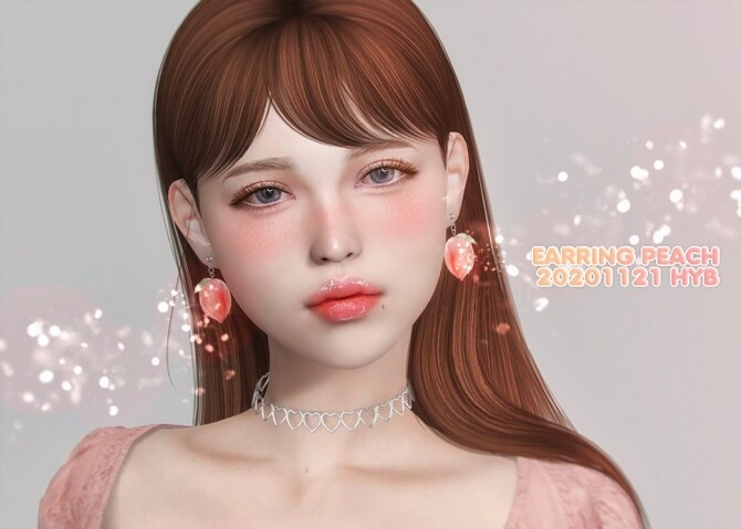 PEACH EARRINGS at Hayanbom image 3054 670x479 Sims 4 Updates
