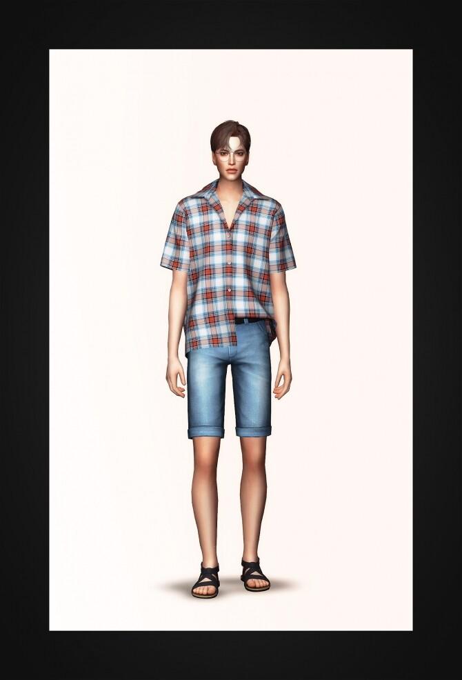 Short Sleeve Shirt at Gorilla image 307 670x986 Sims 4 Updates