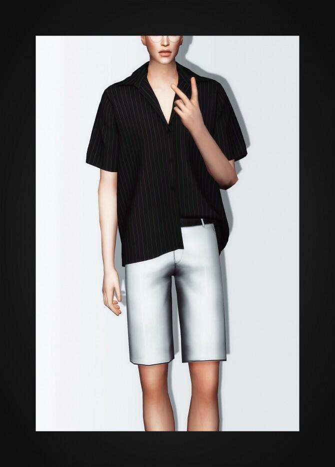 Short Sleeve Shirt at Gorilla image 308 670x933 Sims 4 Updates