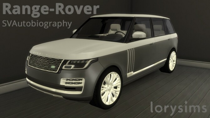 Range Rover SVAutobiography by LorySims