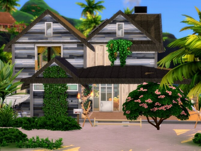 Sims 4 Oyster Cove House by LJaneP6 at TSR
