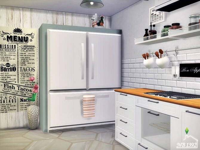 Bright Kitchen by nobody1392 at TSR image 3104 670x503 Sims 4 Updates