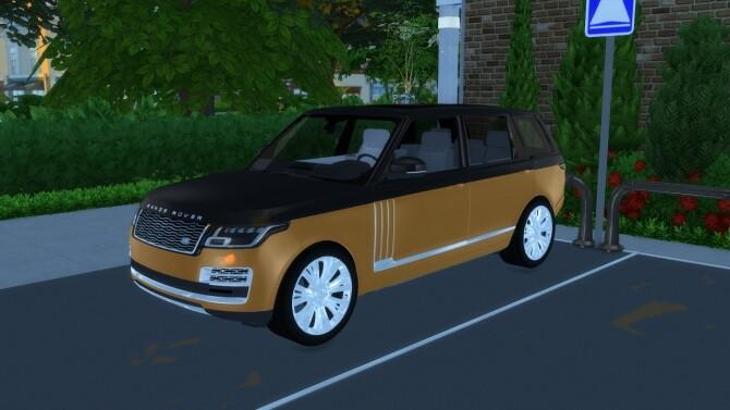 Sims 4 Range Rover SVAutobiography at LorySims