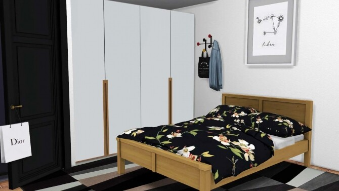 Sims 4 Modern Wardrobe at Sunkissedlilacs