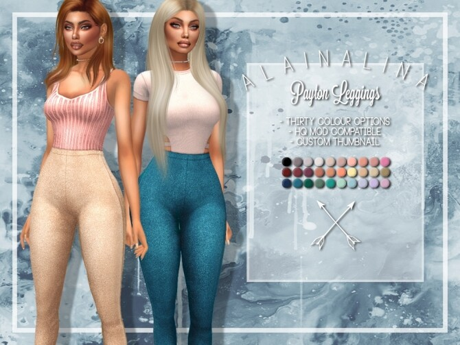 Sims 4 Payton Leggings at AlainaLina