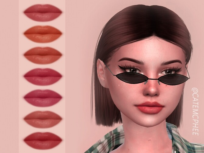 LS 06 Rachel Lipstick by catemcphee at TSR image 3127 670x503 Sims 4 Updates