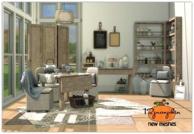 Divine Dining set 34 new meshes